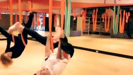 #台湾遇见高空瑜伽