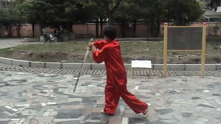 肖金仙  演练 24式太极剑.MPG