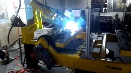 时代焊机图灵机器人童车行业 双工位-变位焊接请联系17316588809