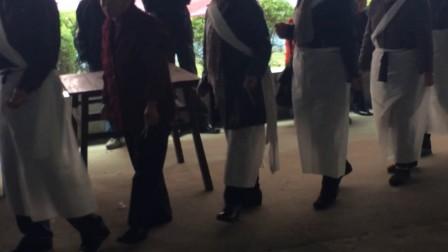 崇明丧事-军乐队出殡