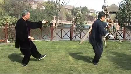 二人合练杨氏85式太极拳