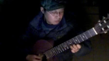 阳光普照下的绿袖子 吴强 缺角吉他独奏曲 转高音完整版