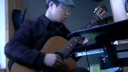 罗密欧与朱丽叶 吴强 缺角吉他独奏曲  转高音版