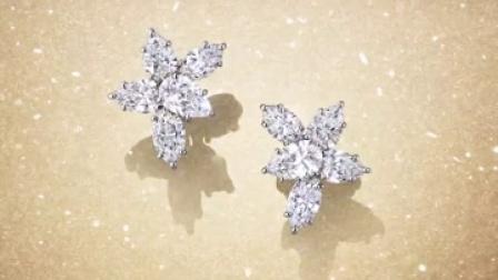 Winston™ Cluster钻石耳钉闪耀奥斯卡红毯