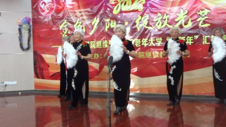 羽毛扇表演《中国茶》