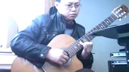 爱情之爱情 吴强 缺角吉他独奏曲 完整版 F调