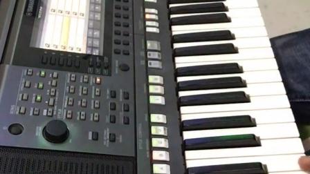 爱的世界里只有你  电子琴