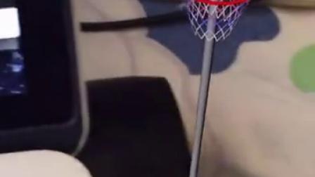 增强现实玩篮球