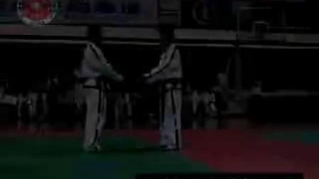跆拳道对打