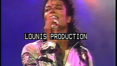 Michael Jackson - Rock with you BAD Tour Live In Rome 1988