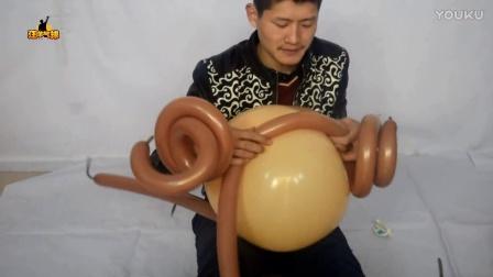 汪洋气球,中型西式新娘 小美女头部 魔术气球