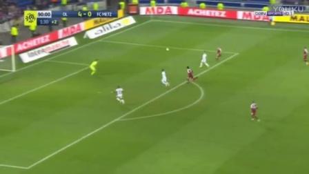 瓦尔布埃纳吊射 里昂5-0梅斯