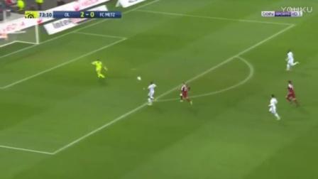 德佩助攻巴柳乌龙 里昂3-0梅斯