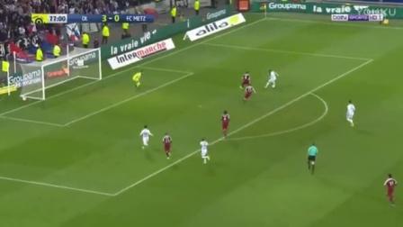德佩助攻拉卡泽特舞蹈进球 里昂4-0梅斯