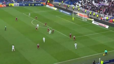 德佩破门,里昂1-0梅斯