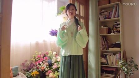 【蝈蝈】草木生春——汉服绿色系单品初春穿搭~