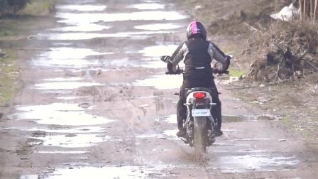【骑士网】缺乏诚意的旅行车,新大洲本田CBF190X骑士网呆子测评_17年第3集