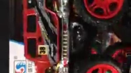 凌盛大脚怪超大越野车遥控特技车 充电攀爬车演示视频
