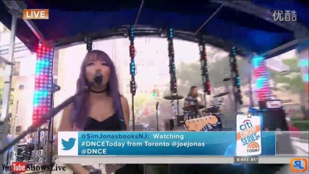 DNCE-Toothbrush(LIVETodayShow2016August26)