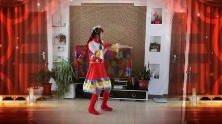 新宾县西厢小堡轻歌广场舞(我的玫瑰卓玛拉)玲珑个人演示