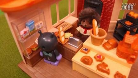 面包超人动漫玩具 新鲜出炉的面包
