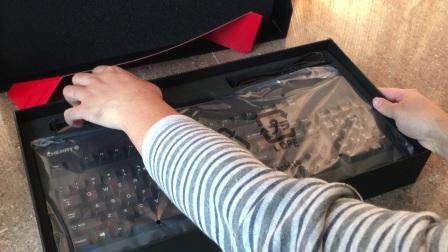 Cherry G80-3000 黑色青轴机械键盘开箱评测