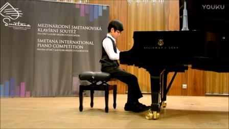 2016年斯美塔那国际钢琴大赛少年组冠军
