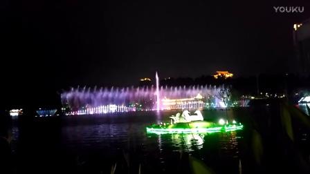 广东阳江这音乐喷泉亮了