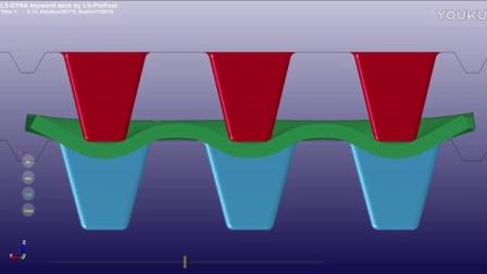 教学视频 Moldex3D Compression Molding Simulation with LSDYNA