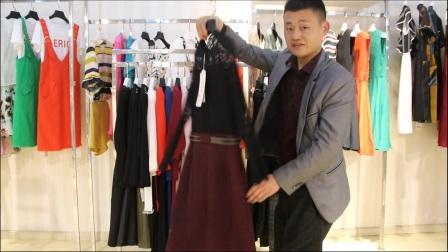 汇美女装批发-品牌春款女装两件套50起批--292期