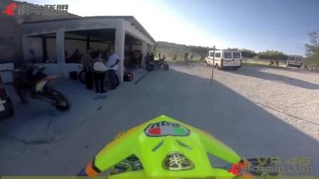 机车联盟 这次玩的越野,直击罗西VR46的私人牧场赛道