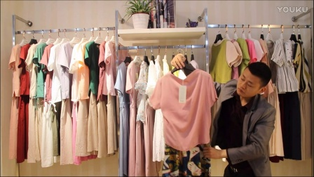汇美女装批发-品牌夏款棉麻两件套裙装30件起批--297期