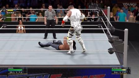 【WWE2K17】生涯模式 冠军季 第15期