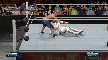 【WWE2K17】生涯模式 冠军季 第14期