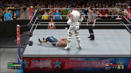 【WWE2K17】生涯模式 冠军季 第17期 终