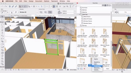 ARCHICAD 20 - Using Favorites in the Info Box