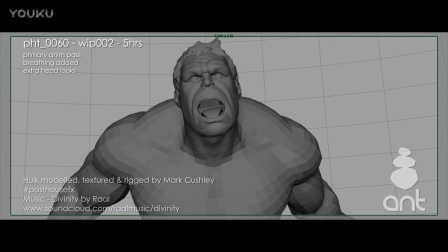 Hulk animation breakdown