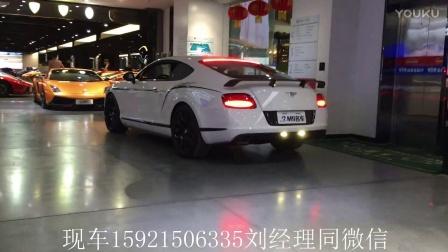 宾利欧陆GT3R上海实车拍摄