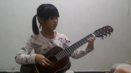 庄瑶瑶古典吉他独奏之《金蛇狂舞》