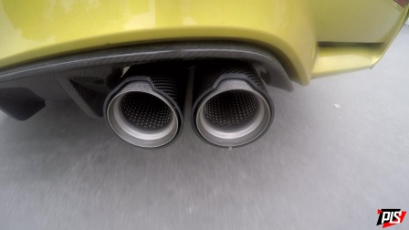 宝马M4改装Mperformance中尾段排气+JBOM头段路试和原地声音
