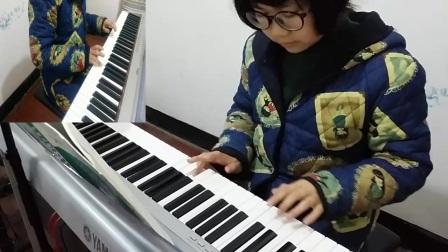 瓜沥学钢琴  最初级
