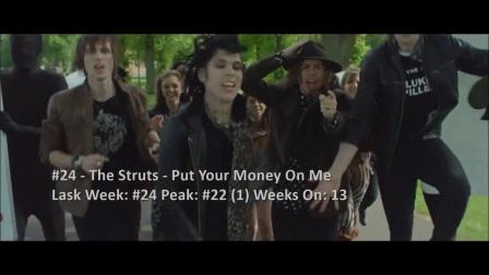 BillboardTop40AlternativeSongs(2016年11月12日)