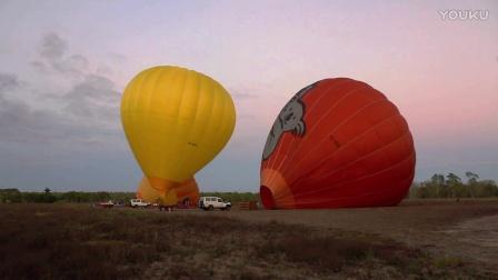 乘热气球观赏澳大利亚大陆第一缕阳光,呼吸最纯净空气