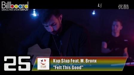 BillboardTOP40Dance_MixShowAirplay(2016年10月29日)