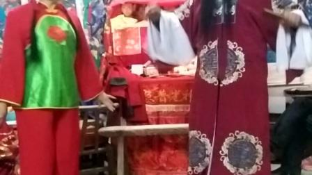 邹英朱红艳傩愿戏《观花教女》――搬算头