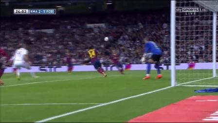 【西甲经典】1314西甲29  皇家马德里3-4巴塞罗那【720P】(梅西帽子戏法)