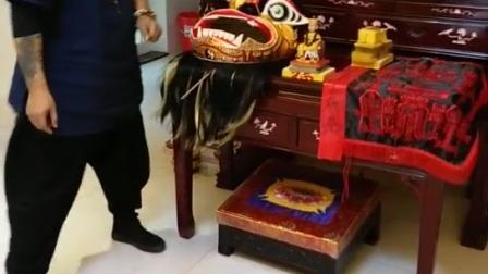 南传佛密魁王-茅山玄成法師开光仪式