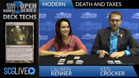 2015-08-23 SCGCHAR - Death and Taxes Deck Tech with Lauren Kenner