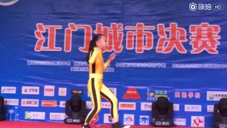 中国最小的女版李小龙,王氏棍王家族小公主王彦苹精彩的功夫表演,赶紧点赞吧