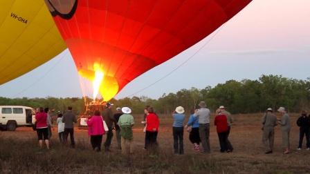 跟团游凯恩斯,不可或缺的热气球体验—Hot Air Balloon 凯恩斯热气球公司